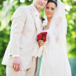 Groom and bride — Stock Photo #3667280