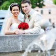 Groom and bride — Stock Photo #3707459