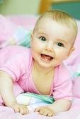 Cheerful baby — Stock Photo