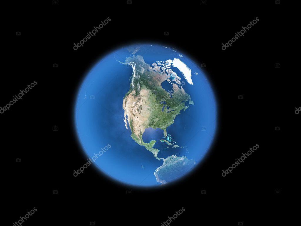 地球黑白图形矢量