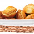 Royalty-Free Stock Photo: Pies in  basket