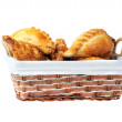 Pies in basket — Stock Photo #3739087
