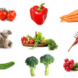 Collage of different vegetables — Stock Photo #3739167