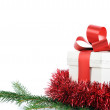 Present with ribbon - Foto de Stock