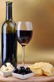 Butelka wina — Zdjęcie stockowe