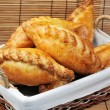 Pies in basket — Stock Photo #3852350
