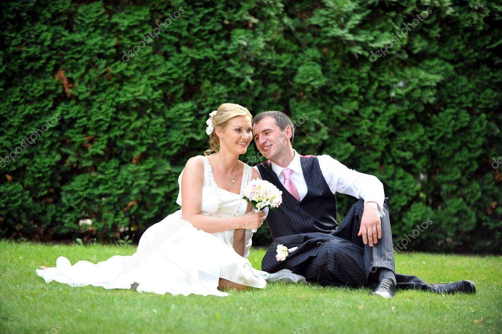 Newly married couple stock photo 169 taden1 3874026