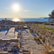 Greek-Roman ruins — Stock Photo