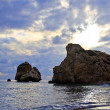 Aphrodite birthplace - Stock Photo