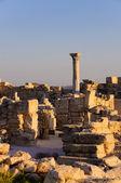 Greek-Roman ruins — Stock Photo