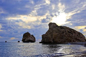 Aphrodite birthplace — Stock Photo