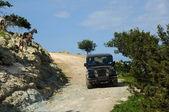 Cyprus door auto — Stockfoto