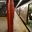 Subway in NYC , Manhattan — Stockfoto