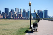 View of the Manhattan , NYC — Stock Photo