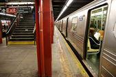 Subway in NYC , Manhattan — Stock Photo