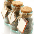 Jars of spices — Stock Photo