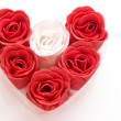 Red and white heart — Stock Photo #2685917