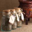 Royalty-Free Stock Photo: Jars of spices