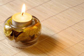 Scented candle — Stock Photo