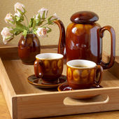 Coffee set — Stock Photo