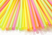 Cocktail straws — Stock Photo
