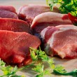 Raw meat - Stockfoto