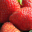 Strawberry close-up — Stock Photo
