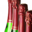 flaskor champagne — Stockfoto