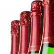 Bottles of champagne - Stock Photo