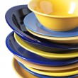 Multicolored dishware — Stock Photo #2771701