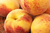 Heap of peaches — Stock Photo