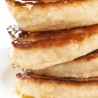 Thick pancakes — Stock Photo