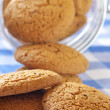 Oatmeal cookies close-up — Stock Photo #2801031