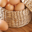 Brown chicken eggs — Stock Photo #2803989