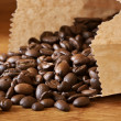 Coffee beans in bag — Stock Photo #2821107