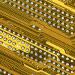 Circuit board close-up — Stock Photo #2821468