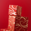 Stack of gifts - Foto de Stock