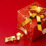 röda gåva — Stockfoto