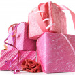 Royalty-Free Stock Photo: Stack of gifts