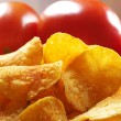 Spicy chips — Stock Photo