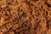 Rye bread background — Stock Photo