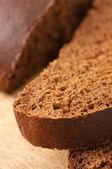 Cut bread close-up — Stock Photo