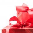 Royalty-Free Stock Photo: Red gifts