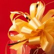 Yellow bow — Stock Photo #2847709