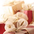 Heap of gifts close-up — Stock Photo #2847999