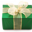 Green gift - Stock Photo