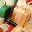 Stock Photo: Multicolored gifts