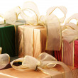 Multicolored gifts — Stock Photo #2848849
