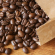 Coffee beans in bag — Stock Photo #2851410