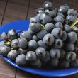 Stock Photo: Dark grape